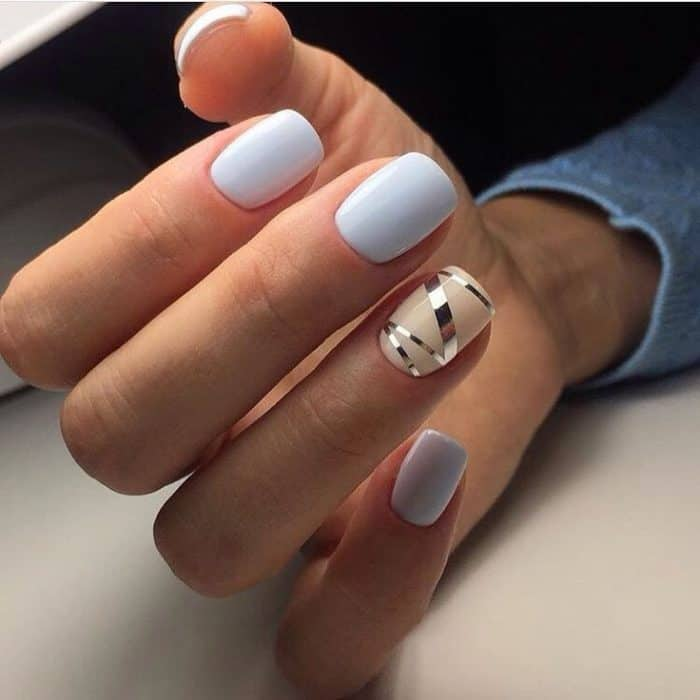 35 Trendy and Unique Nail Color Ideas 2017 - SheIdeas