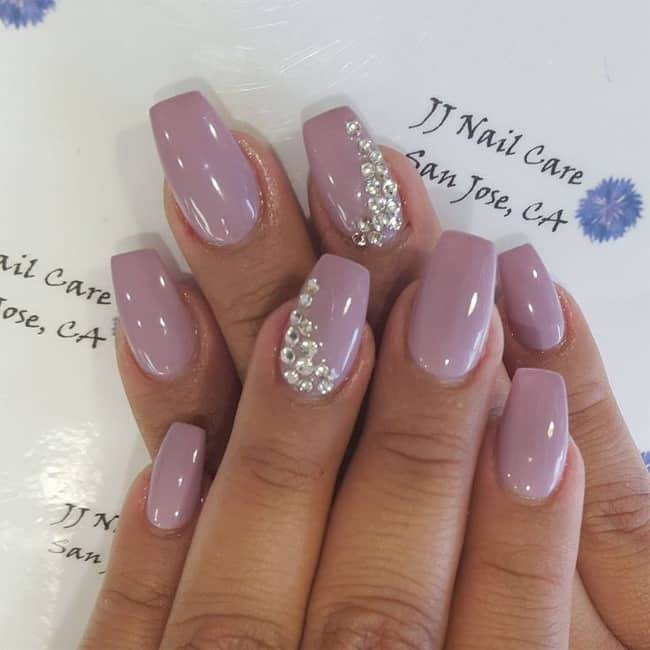 30 latest shellac nail designs pictures 2017 2018 sheideas - Nageldesign beige gold ...