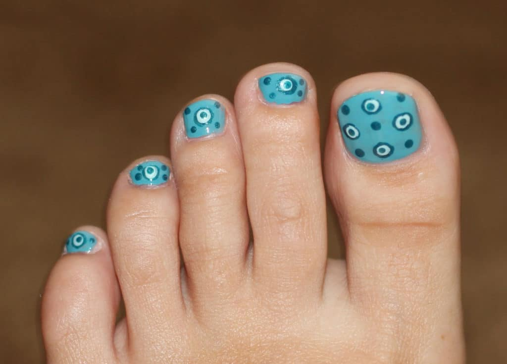 Foot Toe Nail Design for Women