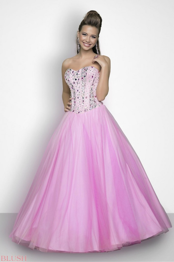 Girls Ball Gowns for New Year 2016
