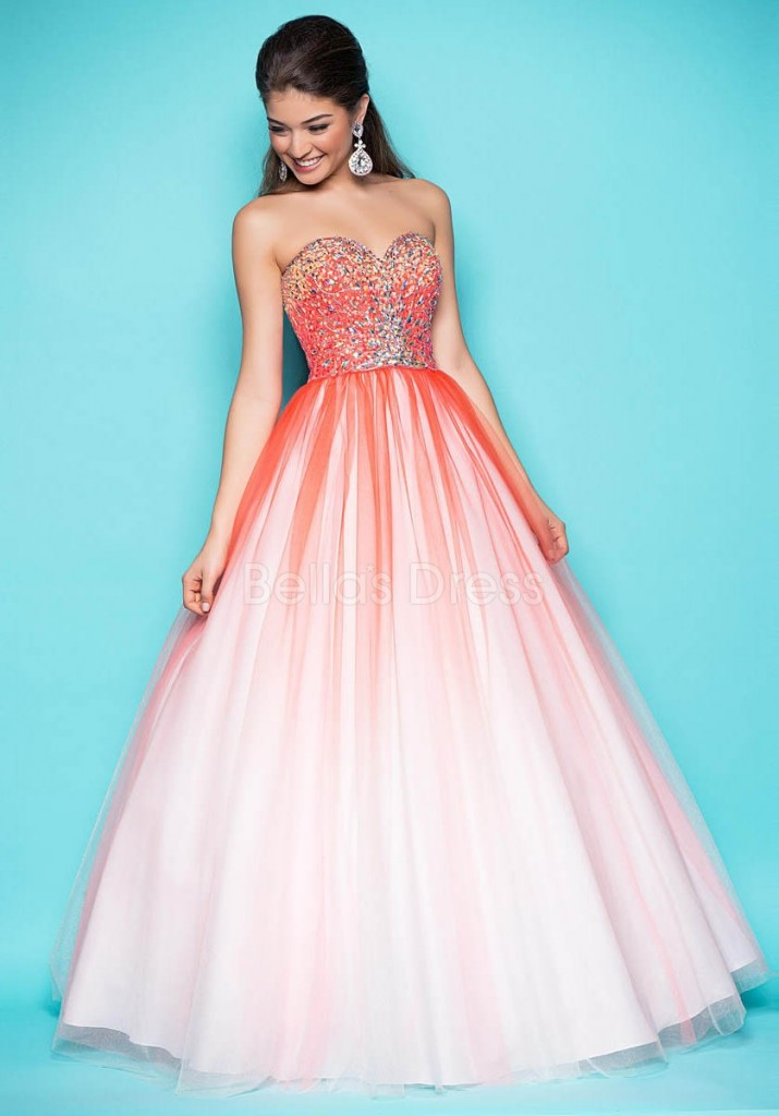Natural Waist Ball Gown for Evening Party