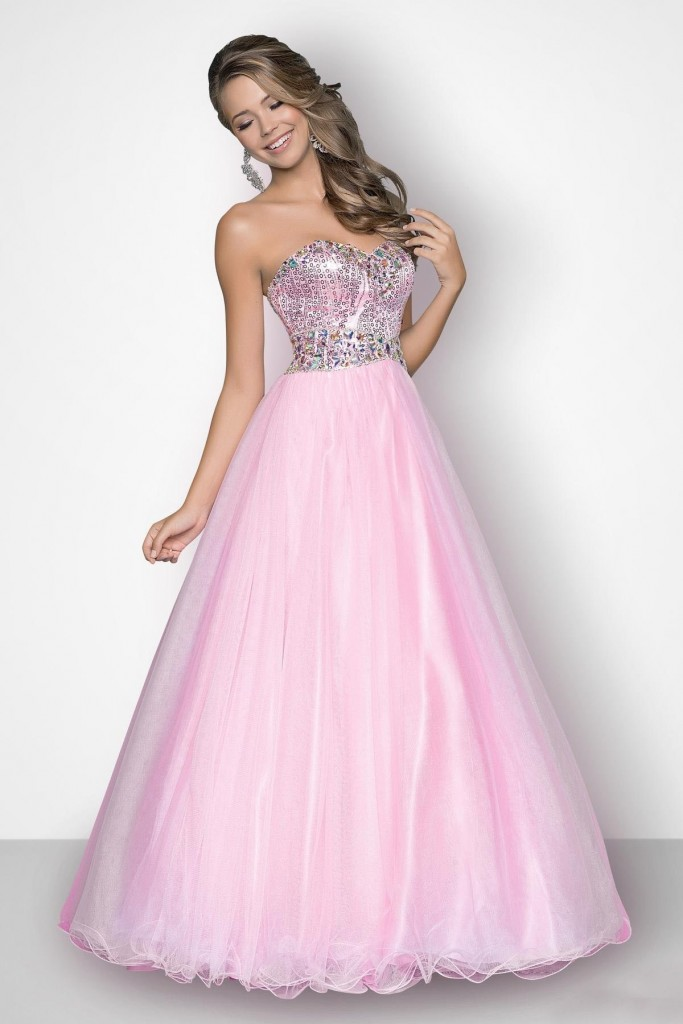 Sweetheart Floor Length Tulle Ball Gowns