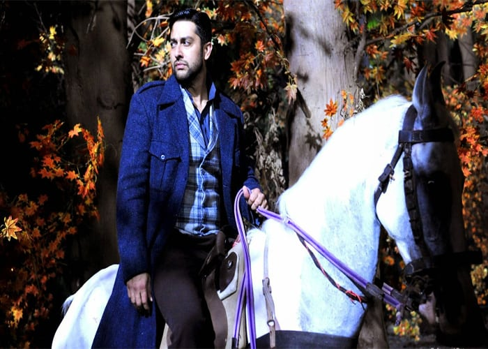 Actor Aftab Shivdasani Riding Horse