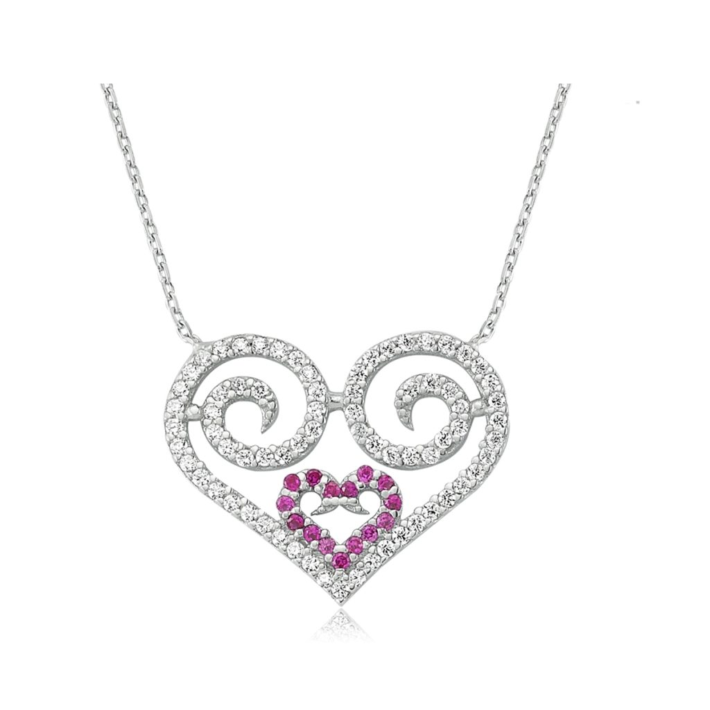 Amazing Valentine's Day Heart Necklace Design