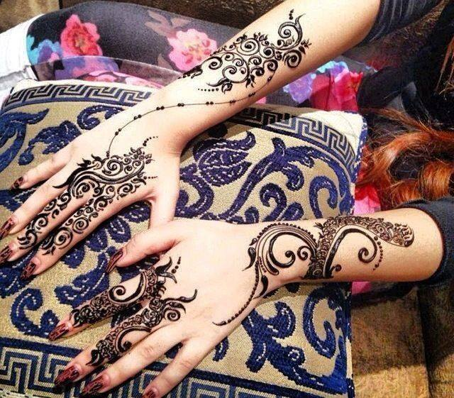 Arabic Bridal Mehndi Designs for Wedding 2016