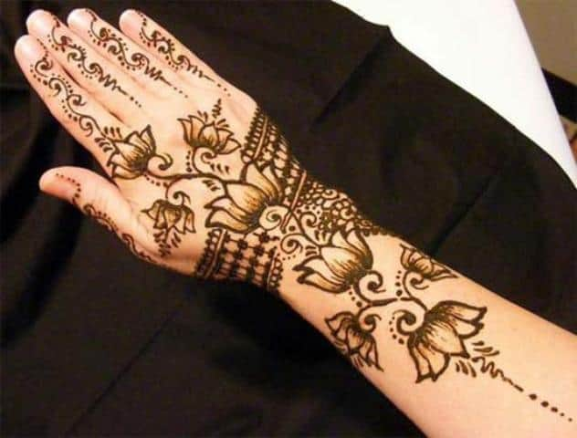 30 Awesome Arabic Mehndi Designs 2017  SheIdeas