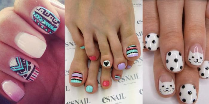 25 cool nail polish designs 2019 you can do at home sheideas - Cool nail designs you can do at home ...
