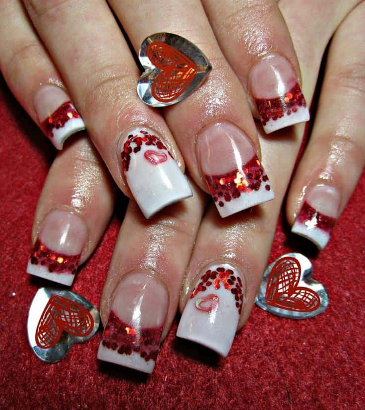 Awesome Valentines Day Nail Designs 2016