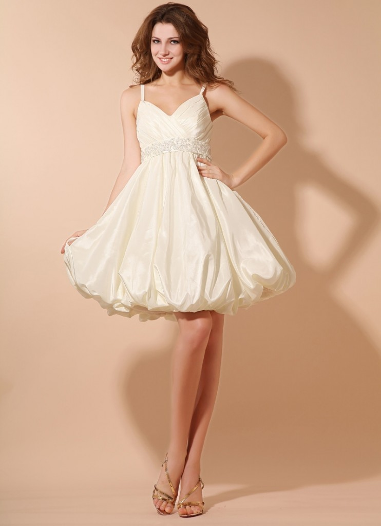 Awesome White Cocktail Dress for Graduation