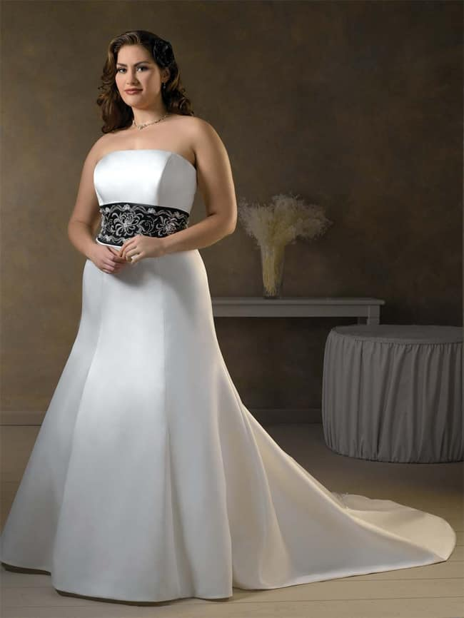 Beautiful Plus Size Bridal Dresses for Valentines Day