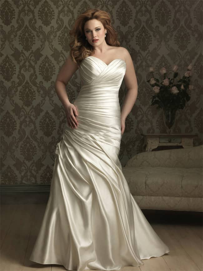 Beautiful Plus Size Wedding Gowns for 2016