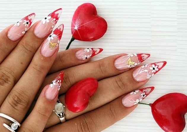 Beautiful Valentine Day Nail Art Pictures 2016