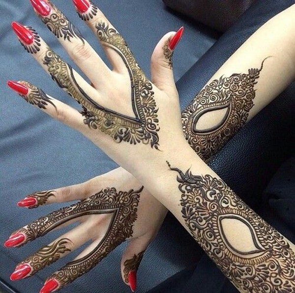 Best Arabic Henna Designs 2016