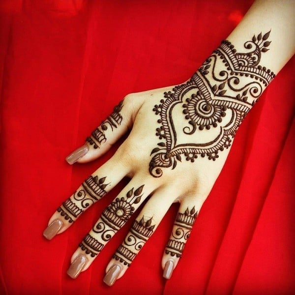 Bridal Hands Mehndi Designs for Wedding
