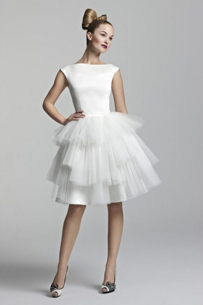 Cocktail White Dresses for Wedding 2016