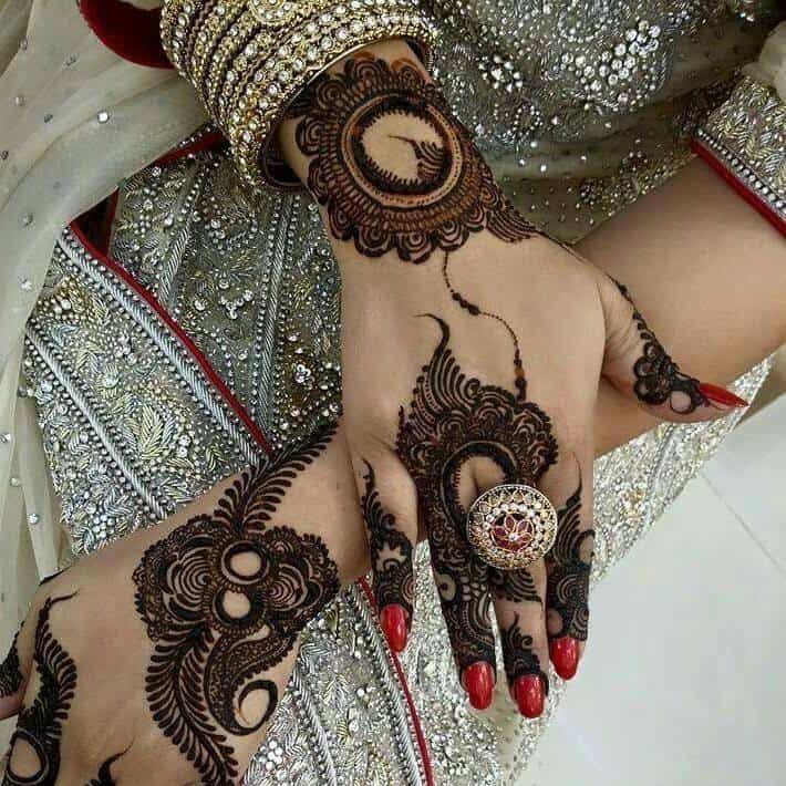 Cool Hand Mehndi Designs for Brides 2016