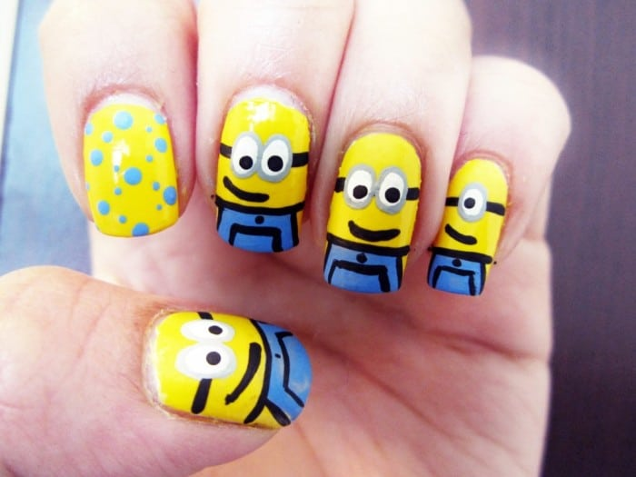 Cool Nail Design for Women 2017 - 40 Easy And Cool Nail Designs Pictures - SheIdeas
