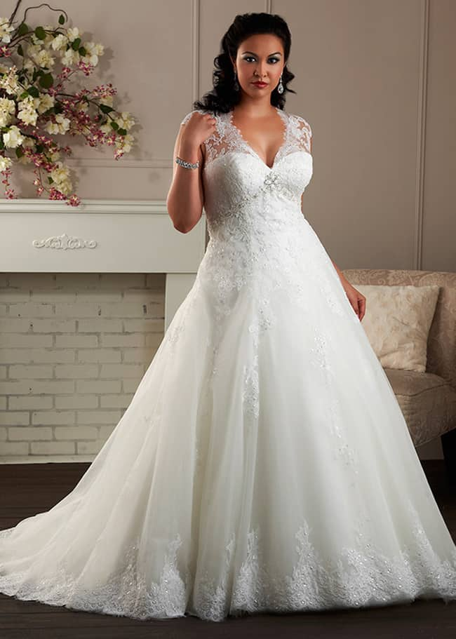 Cool Plus Size Bridal Wedding Dresses 2016