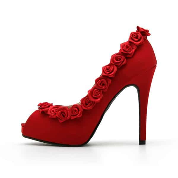 Cool Valentines Day Heel Shoes Trend For Girls