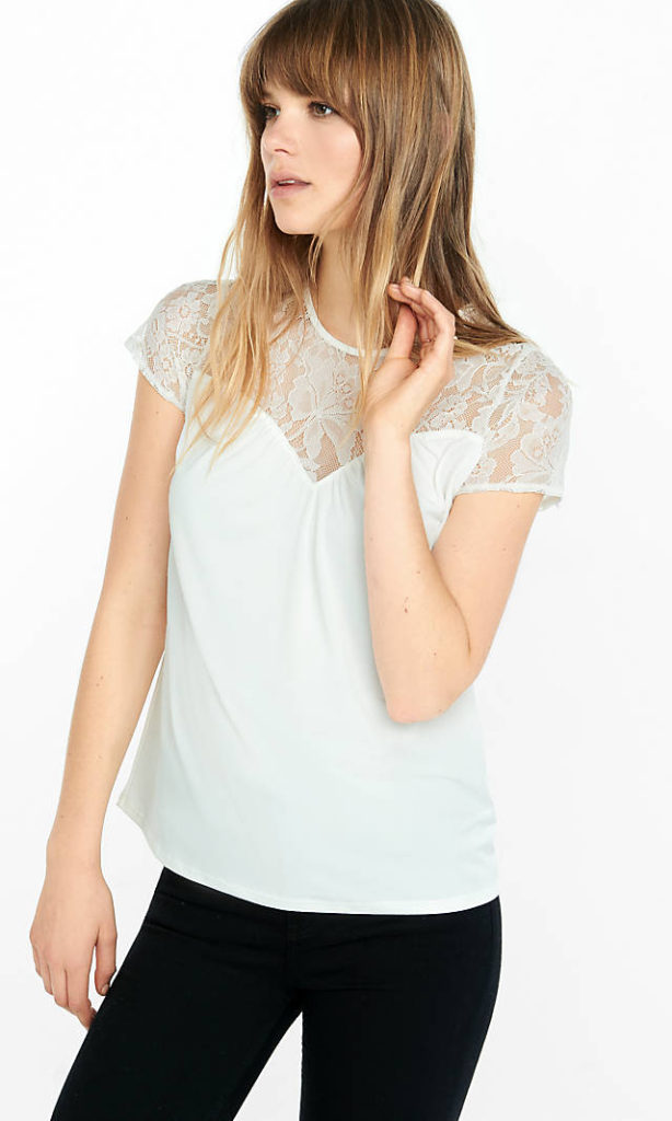 Cool Womens Going Out White Tops