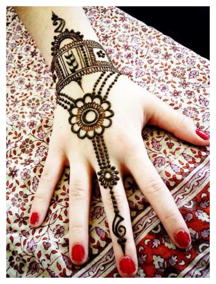 Mehndi Front Hand Design 2017 : Simple easy and beautiful mehndi designs for hands