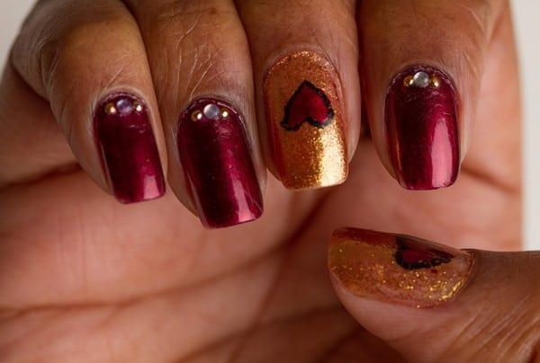 Creative Valentines Day Nails Designs for Women