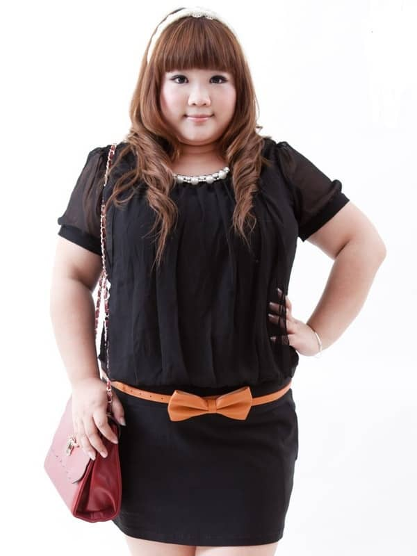 Cute Black Plus Size Clothing for Girls