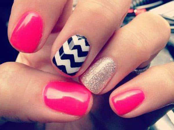Cute Designer Nail Art Design for Party