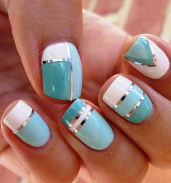 25 Cool Nail Polish Designs 2017 You Can Do At Home - SheIdeas
