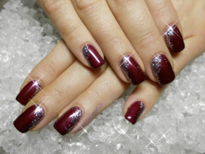 Cute Red Acrylic Nail Designs Gallery