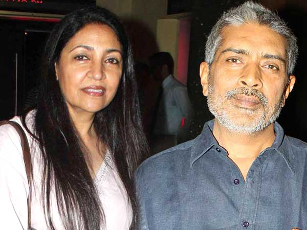 Deepti Naval and Prakash Jha