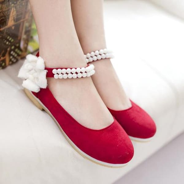 Dressy Ballerina Flats Shoes for Girls