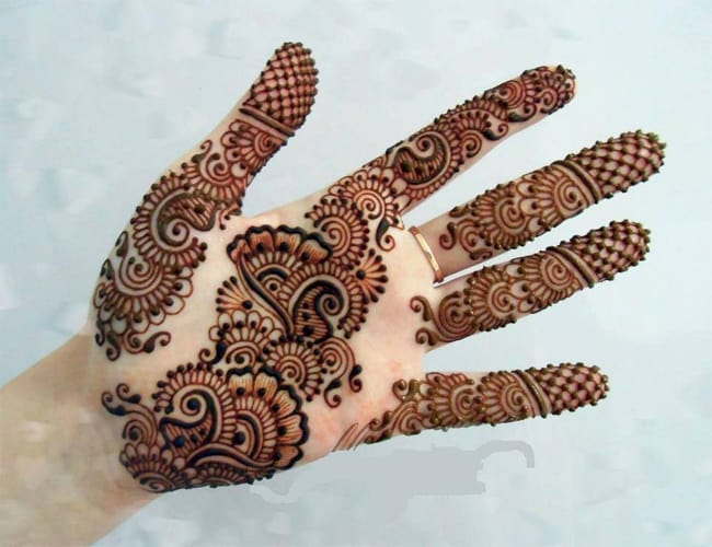 Easy Arabic Style Mehndi Design Collection