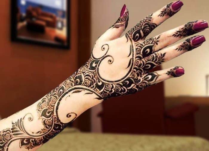 Easy Eid Mehndi Designs 2016 for Party