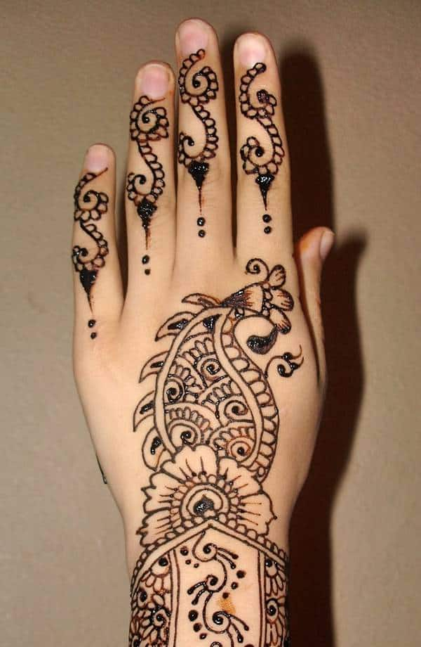 Easy Henna Designs for Hands 2016