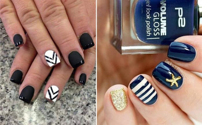 easy and simple gel nails art ideas 2017 - Gel Nails Designs Ideas