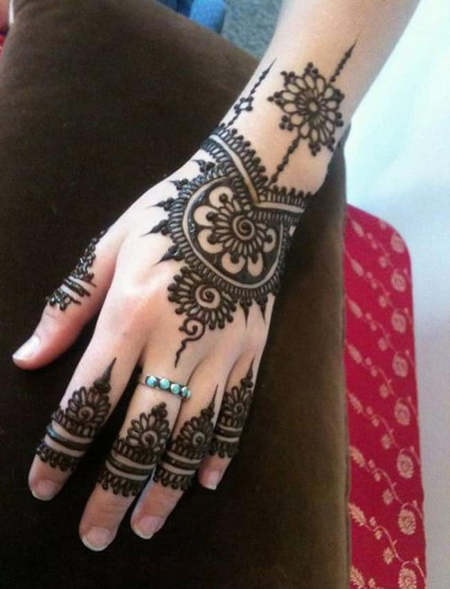 25 Simple Easy And Beautiful Mehndi Designs For Hands 2019 Sheideas