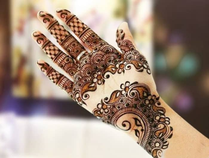 Great Arabic Mehndi Designs For Hands