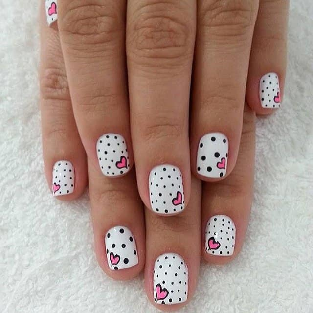 Great Valentine Day Nails Ideas to Fall in Love