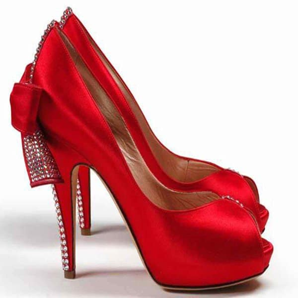 High Heel Valentines Day Shoes Design 2016