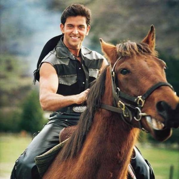 Hrithik Roshan Look Cool on Horse