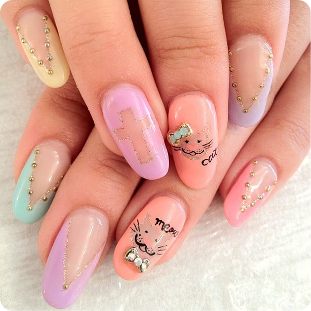 Inspirational Easy and Simple Nail Designs