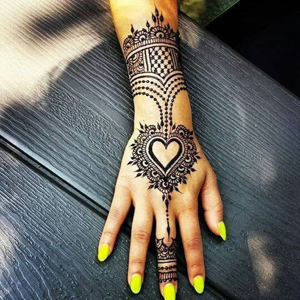 Latest Easy Eid Mehndi Designs for Women