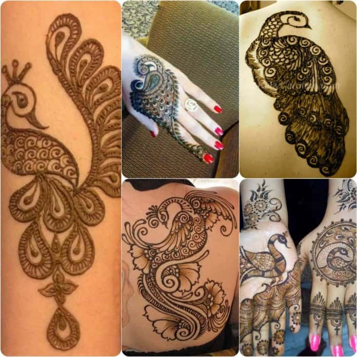 30 Latest and Cool Easy Henna Designs 2017 - SheIdeas