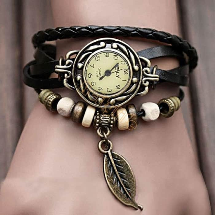 Leather Bracelet Vintage Style Watches 2016