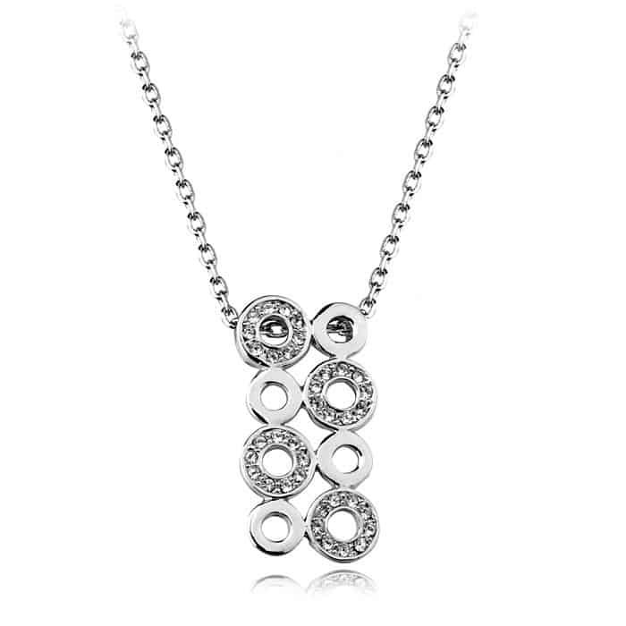 New Silver Necklace for Valentine's Day 2016