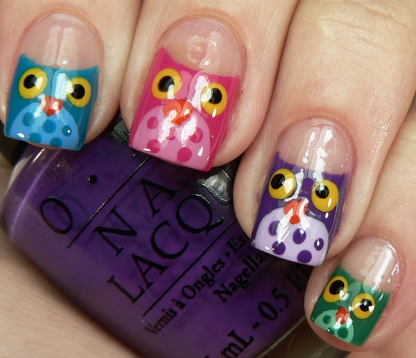 Cool Nail Designs: 40 Easy And Cool Nail Designs Pictures