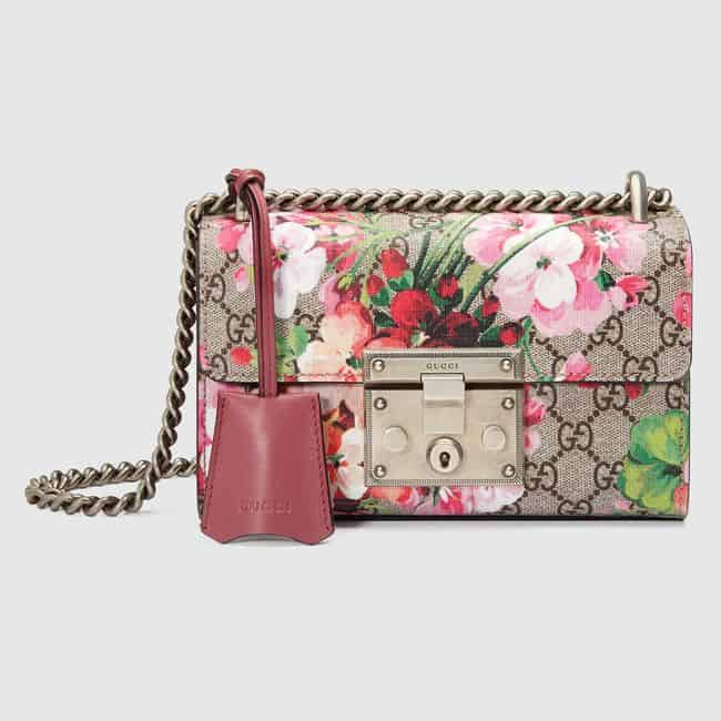 Padlock Blooms Shoulder Bag Trend for Valentines Day