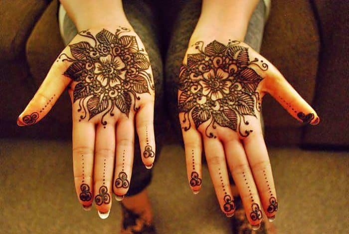 Pakistani Hands Mehndi Designs 2016