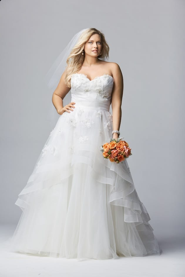 Plus Size Watters Curves Wedding Dress 2016